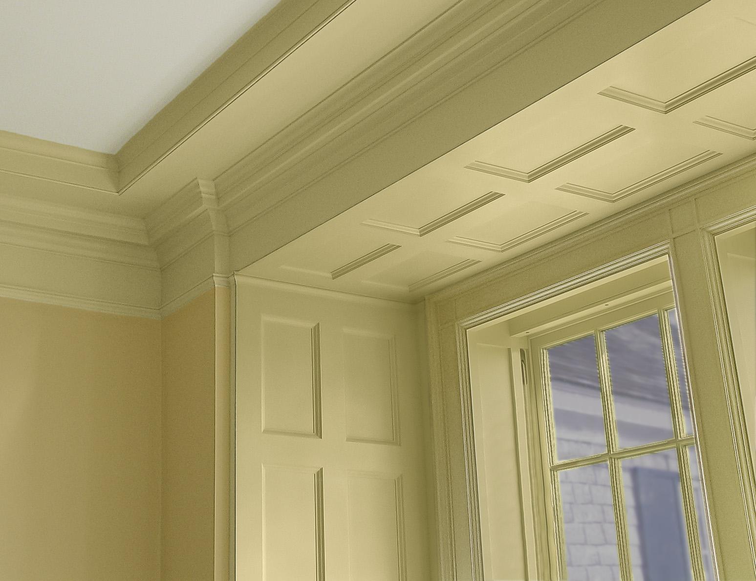Paneled window surround