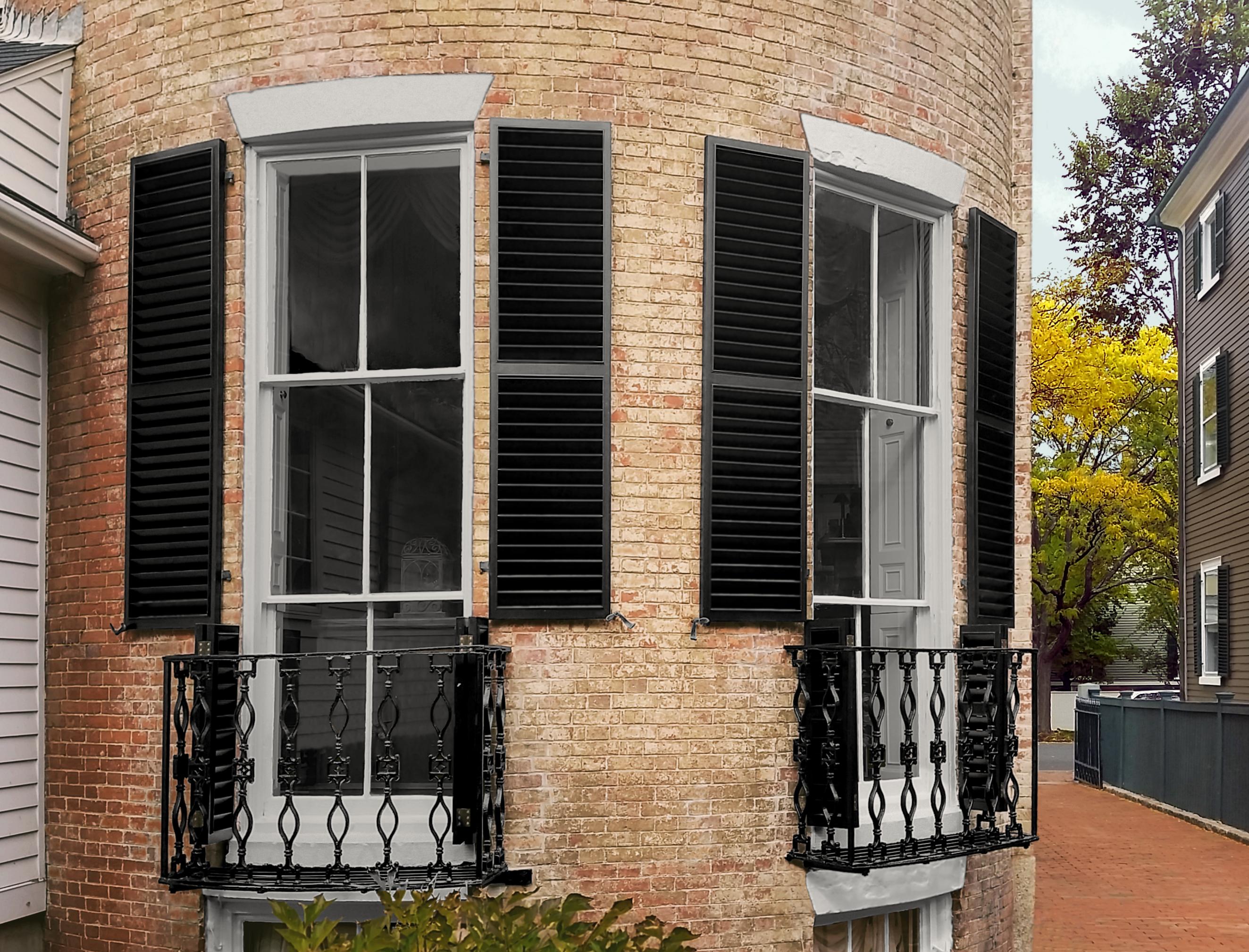 Salem, Ma historic shutters